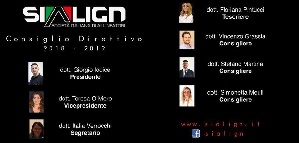 Società Italiana Allineatori – Nuovo Consiglio Direttivo